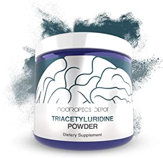 Triacetyluridine Powder   Tau   50 Grams   Uridine Supplement   Nootropic Brain Booster   Supports Cognition and Memory Enhancement