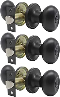 Best black oval door knobs Reviews