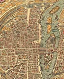 Journal: Paris Vintage Map Notebook (Vintage Map Collection)