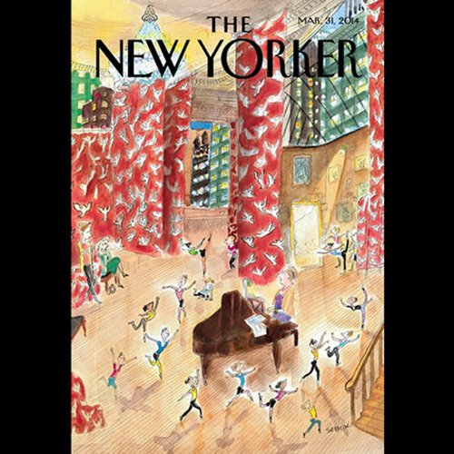 The New Yorker, March 31th 2014 (Ben McGrath, Malcolm Gladwell, George Packer) audiobook cover art