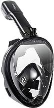 Flyboo Máscara de Snorkel,180° Vista Máscara de Buceo con