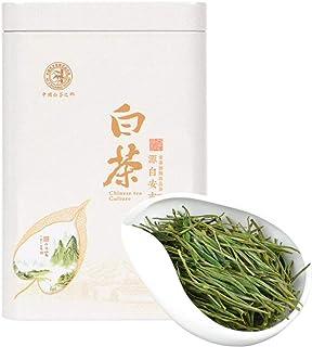 HeFuo 中国茶 工芸茶 白茶 代表茶 2019新茶 散葉 中国の伝統的なお茶 爽口 は濃い香りで泡に強いです ノンカフェイン 春の飲料 白茶芽 天然野生栽 無農薬 原産地 茶葉 ギフト 50グラム入り