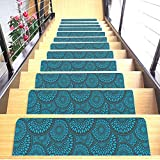 Shape28 Stair Treads Ultra-Thin with Non Slip Rubber Backing...