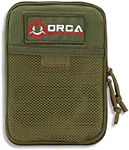 Orca Tactical MOLLE Gadget EDC Utility Pocket Pouch Organizer (OD Green)