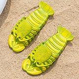 DUOYE Zapatillas Creativas De Playa, Langosta De Langosta De...