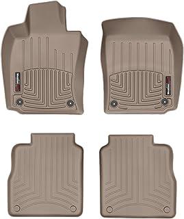 Weathertech FloorLiner kompatibel für Porsche Panamera 970 Lang Radstand 2010 16|Beige|1. und 2. Reihe