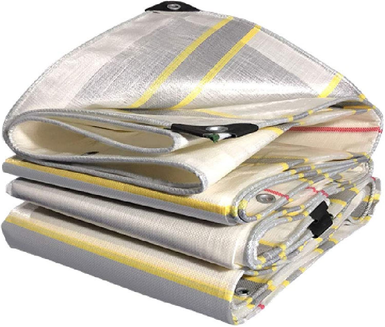 Rain Cloth, Outdoor Thickening Truck color Strip Waterproof Cloth Waterproof Sunscreen Tarpaulin rain Shade Tarpaulin Canvas rain shed