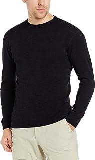 Minus33 Merino Wool 705 Chocorua Men`s Midweight Crew - Anti Odor NO Itch Renewable Fabric