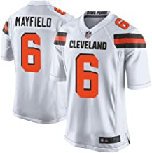 Outerstuff Youth Kids 6 Baker Mayfield Cleveland Browns Jersey White Size 18-20 XL