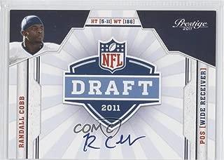 Randall Cobb (Football Card) 2011 Panini Prestige - NFL Draft Class - Signatures [Autographed] #32