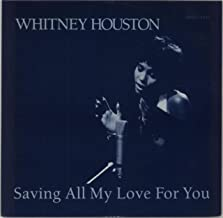 Saving All My Love For You b/w All At Once, 45 RPM With Picture Sleeve