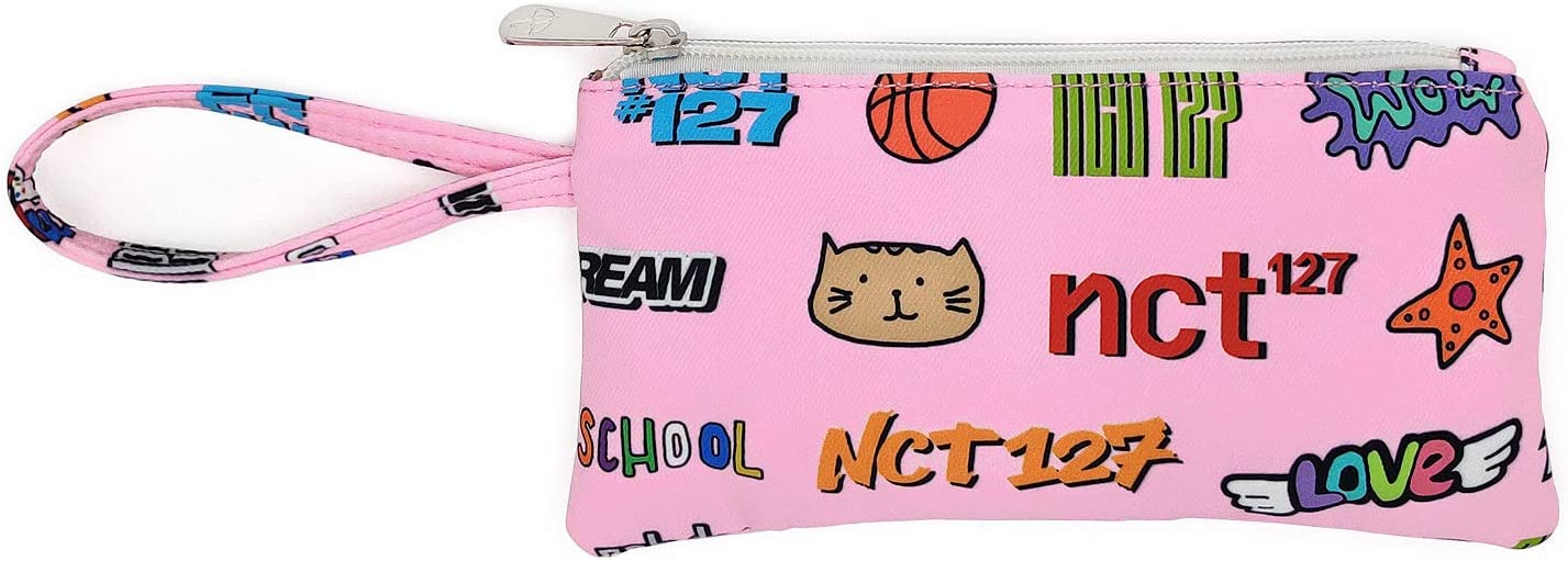 Fanstown TWICE NCT-127 DREAM STRAY KIDS ITZY kpop Backpack Daypack Bag Canvas Travel Candy Colors with same pencil case and lomocard