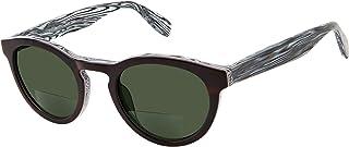 Center Sun - Bi-Focal Reading Sunglasses for Men and Women - Marble Rye