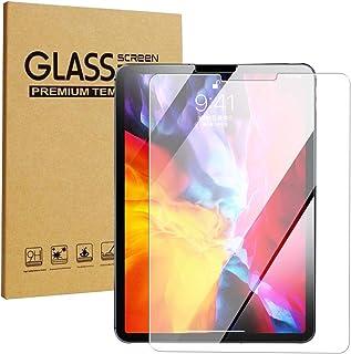 واقي شاشة من الزجاج المقسى فائق الوضوح يستخدم لايباد برو 12.9 (11) انش iPad Pro 11