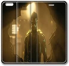 Adam Jensen Deus Ex Human Revolution 16116 iphone 6 Plus Smart Leather Cover