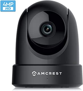 Amcrest 4MP UltraHD Indoor WiFi Camera, Security IP Camera with Pan/Tilt, Two-Way Audio,..