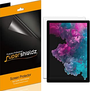 Supershieldz (3 Pack) for Microsoft Surface Pro 7, Surface Pro 6, Surface Pro 5 and Surface Pro 4 Screen Protector, Anti G...