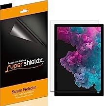 Supershieldz (3 Pack) for Microsoft Surface Pro 7, Surface Pro 6, Surface Pro 5 and Surface Pro 4 Screen Protector, Anti G...