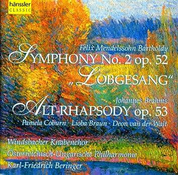 """Mendelssohn: Symphony No. 2, Op. 52, """"Lobgesang"""""""