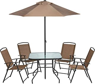 Amazon.com: Umbrella - Dining Sets / Patio Furniture Sets ...