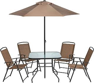 Umbrella Patio Furniture Sets Amazon Com