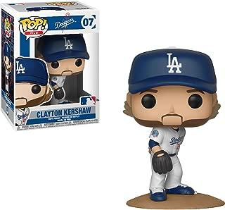 Funko Clayton Kershaw [Los Angeles Dodgers]: x POP! MLB Vinyl Figure + 1 Official MLB Trading Card Bundle [#007 / 30238]