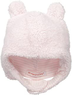Baby Girls' Pink Icing Fleece Hat
