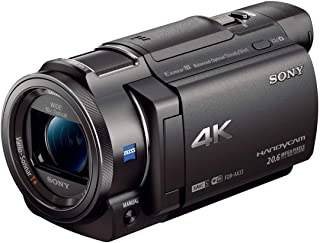 Sony FDR-AX33 Ultra HD 4K Compact Handycam Camcorder | Black