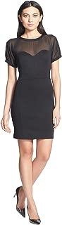 Robbi & Nikki Illusion Corset Dress, Black, S