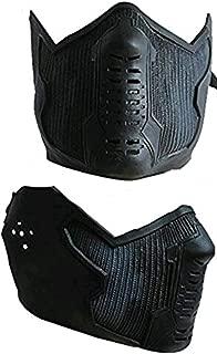 Winter Soldier Bucky Barnes James Buchanan Cosplay Latex Mask Black