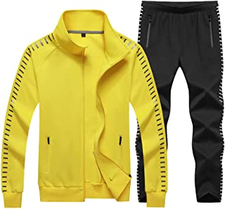 Sun Lorence Mens Outdoor Athletic Tracksuits Sets Cartoon Tshirt And Shorts Yellow