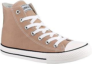 Elara Sneaker Unisex Scarpe Sportive High Top Chunkyrayan