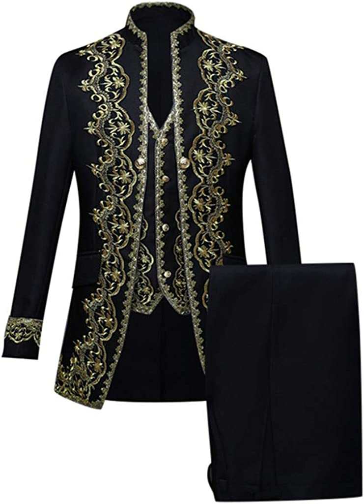 FIN86 Mens Clothes Outfits European Mi Detroit Mall Seattle Mall Style Costumes Court
