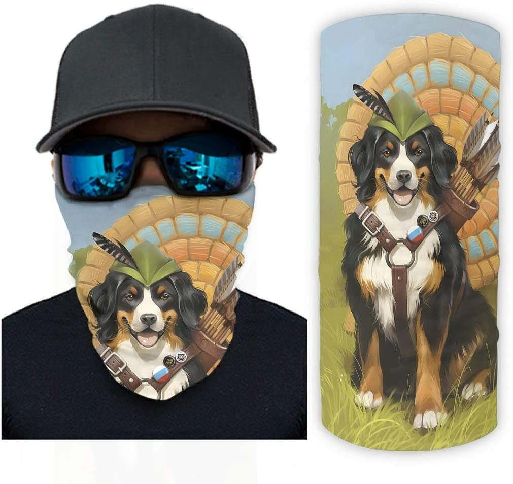 Clubdeer Bernese Mountain Columbus Mall Dog Magic Men for Women Bandanas Scarf Tulsa Mall