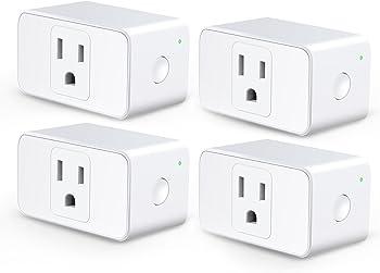 4-Pack Meross WiFi Smart Plug Mini