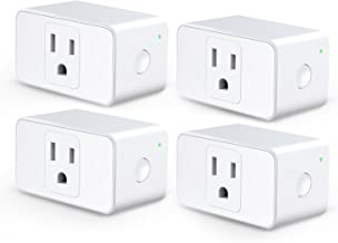 Meross WiFi Smart Plug Mini, 16 Amp & Reliable Wifi Connection Powered by Mediatek Chipset, Support Alexa, Google Assistan...