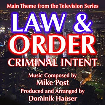 Law & Order: Criminal intent - Theme from the TV Series (Mike Post)