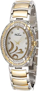 Charisma Women's White Dial Yellow Gold Plated Band Watch - C6528C