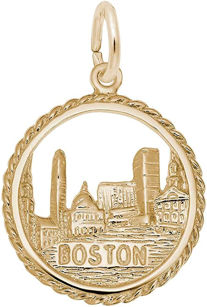Rembrandt Charms Boston Charm Yellow 10K Max 69% OFF Gold Now free shipping