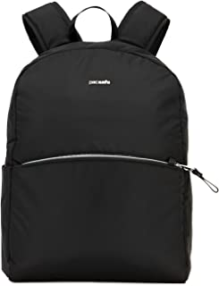 Stylesafe anti-theft backpack Mochila tipo casual, 37 cm, 12 liters, Negro (Black 100)