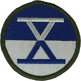 UNITED STATES ARMY X CORPS UNIT Patch - Color - Veteran Owned Business.