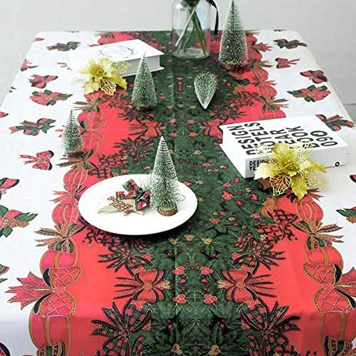seawe Manteles,Bonitos Manteles Manteles De Navidad Decoración De Fiesta De Navidad Manteles Rectangulares Antimanchas...