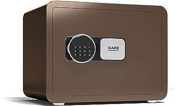 CXSMKP Digital Keypad Safe Box, Keypad Lock Box Cabinet Safes, Money Box, for Home Office Hotel Business Jewelry Gun Cash ...