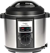Emjoi Electric Pressure Cooker, Black/Silver Uepc-391, Stainless Steel Material