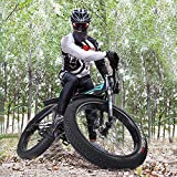 Tengma Fat Tire Mountain Bikes for Men Women 17-Inch/Medium High-Tensile Aluminum Frame, 21-Speed, 26-inch Wheels Outdoor Bicycle Aluminum Frame, up to 200KG,Adult Mountain Bike