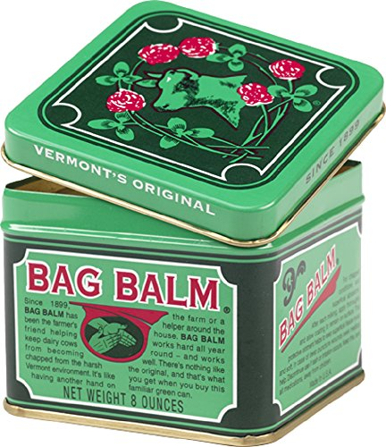 Bag Balm Vermont#039s Original 8oz Moisturizer Softener Ointment Salve for Chapped Conditions and Abrasions Horses and Livestock