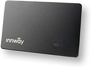 GPSで財布を守る 紛失防止タグ Innway アプリで紛失場所を記録 なくす前にスマホ通知がくる カード型スマートタグ 充電器付属モデル