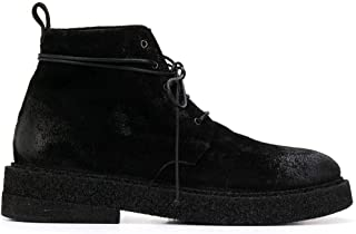Luxury Fashion | Marsell Men MM3090459666 Black Leather Ankle Boots | Spring-summer 20