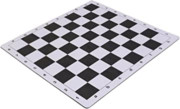 Wholesale Chess 20 Tournament Mousepad Style Roll-Up Chess Board - Black by Wholesale Chess