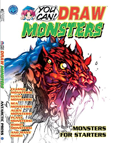 You Can ( How to ) Draw Monsters (English Edition)